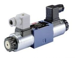NG 6 3/3, 4/2 and 4/3 directional seat valves, direct operated, with solenoid actuation